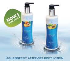 AquaFinesse body lotion Abrikoos
